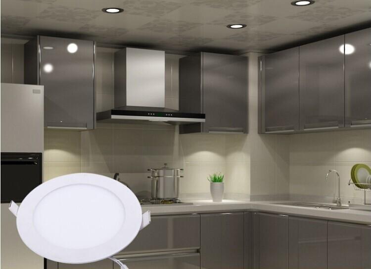 6w 9w 12w 15w 18w Built In Round Ceiling Panel Light For Home Office Hotel6w 9w 12w 15w 18w