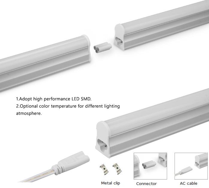3ft 4ft 5ft t5 led tube light integrated tube fixturet5 led tube light. Black Bedroom Furniture Sets. Home Design Ideas