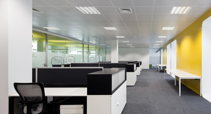 Office Lightingfluorescent Tubes And Led Panel Light For